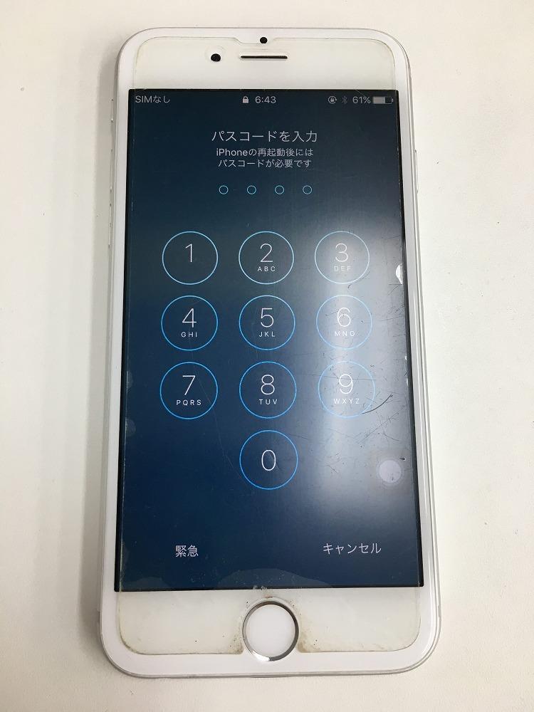 iPhone6水没復旧成功