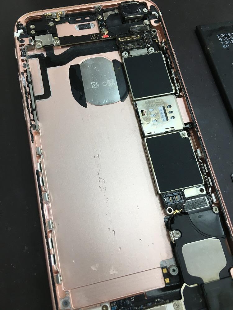 iPhone6s水没