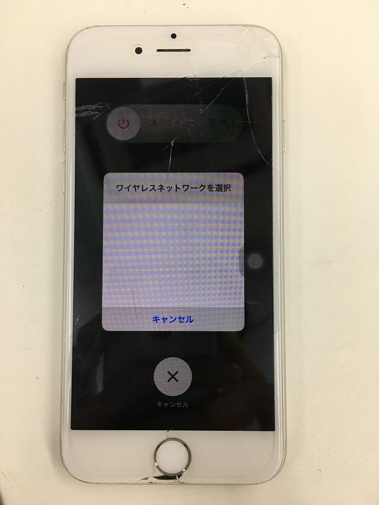 iPhone6タッチ不良