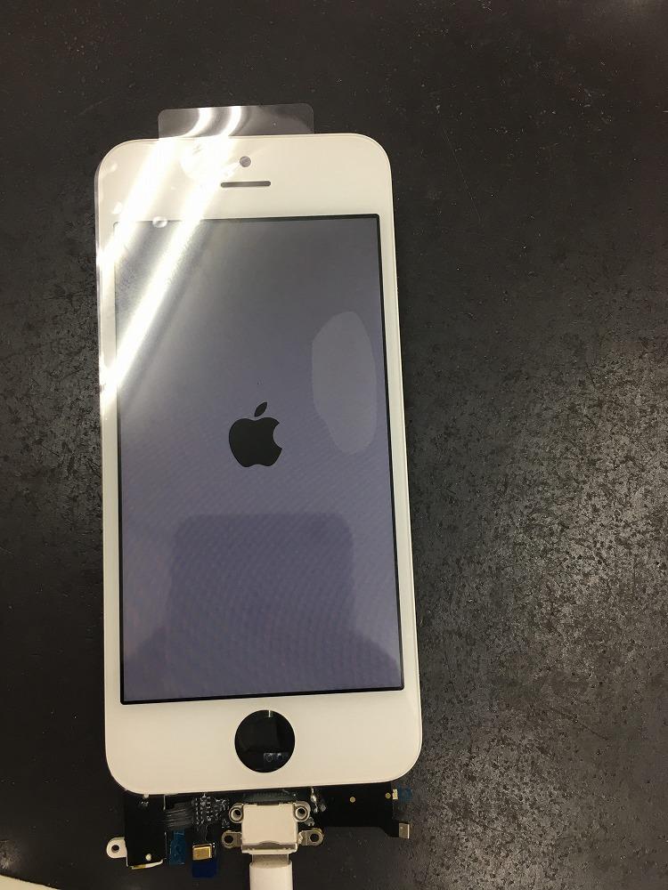 iPhoneSE水没復旧成功
