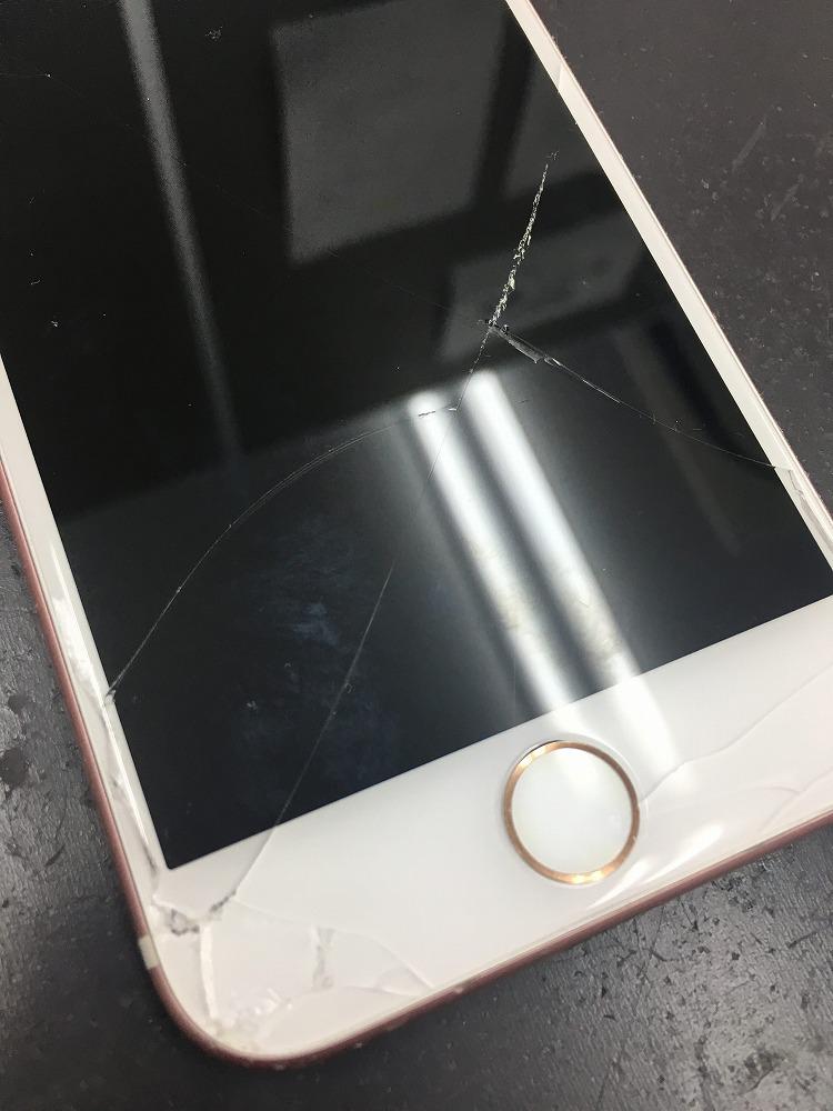 iPhone7画面交換前2