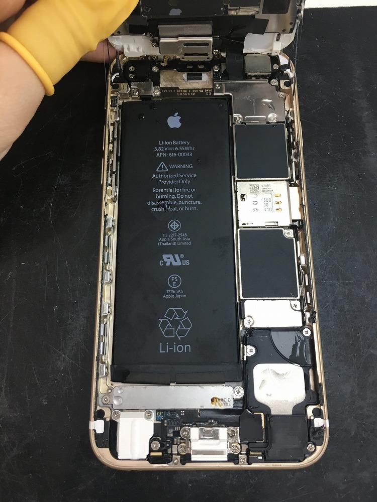iPhone6s水没復旧2