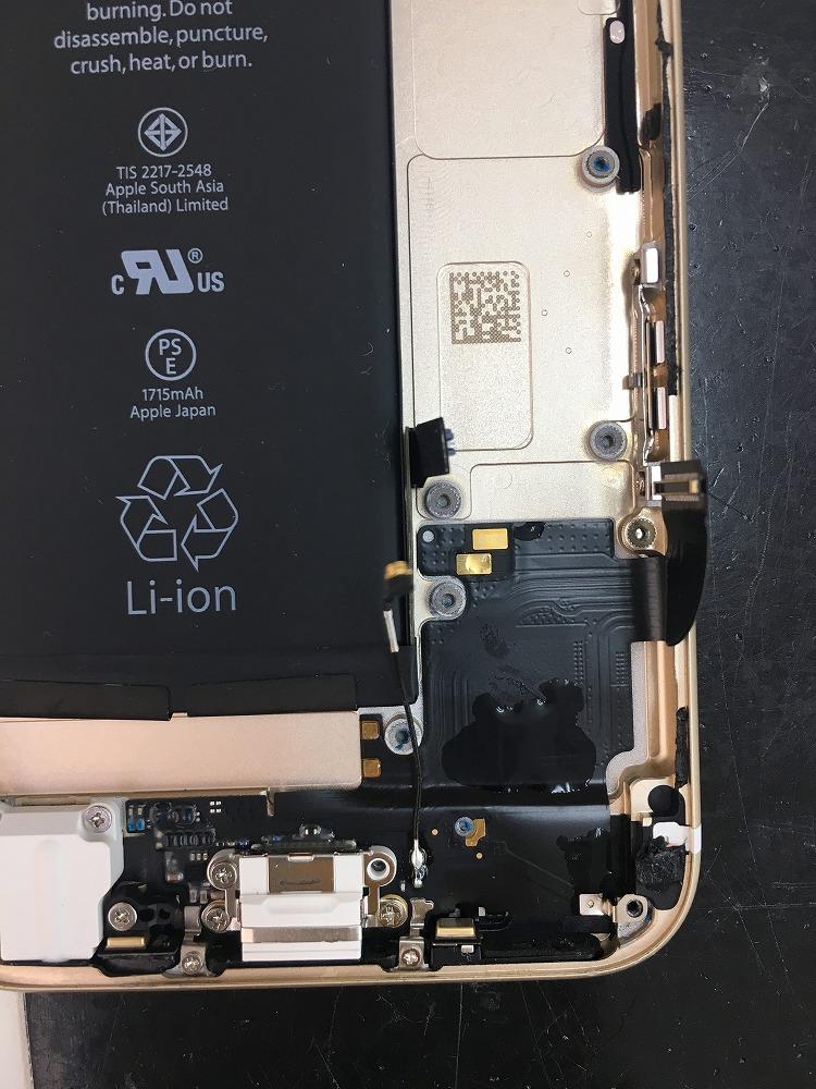 iPhone6s水没復旧4