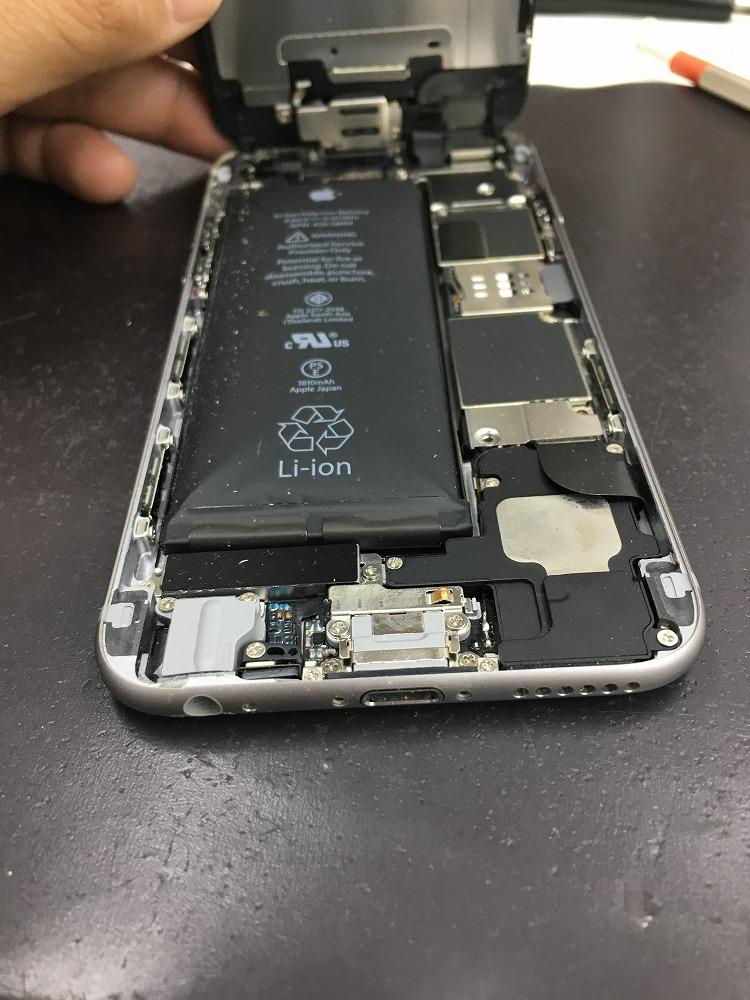 iPhone6バッテリー交換前4