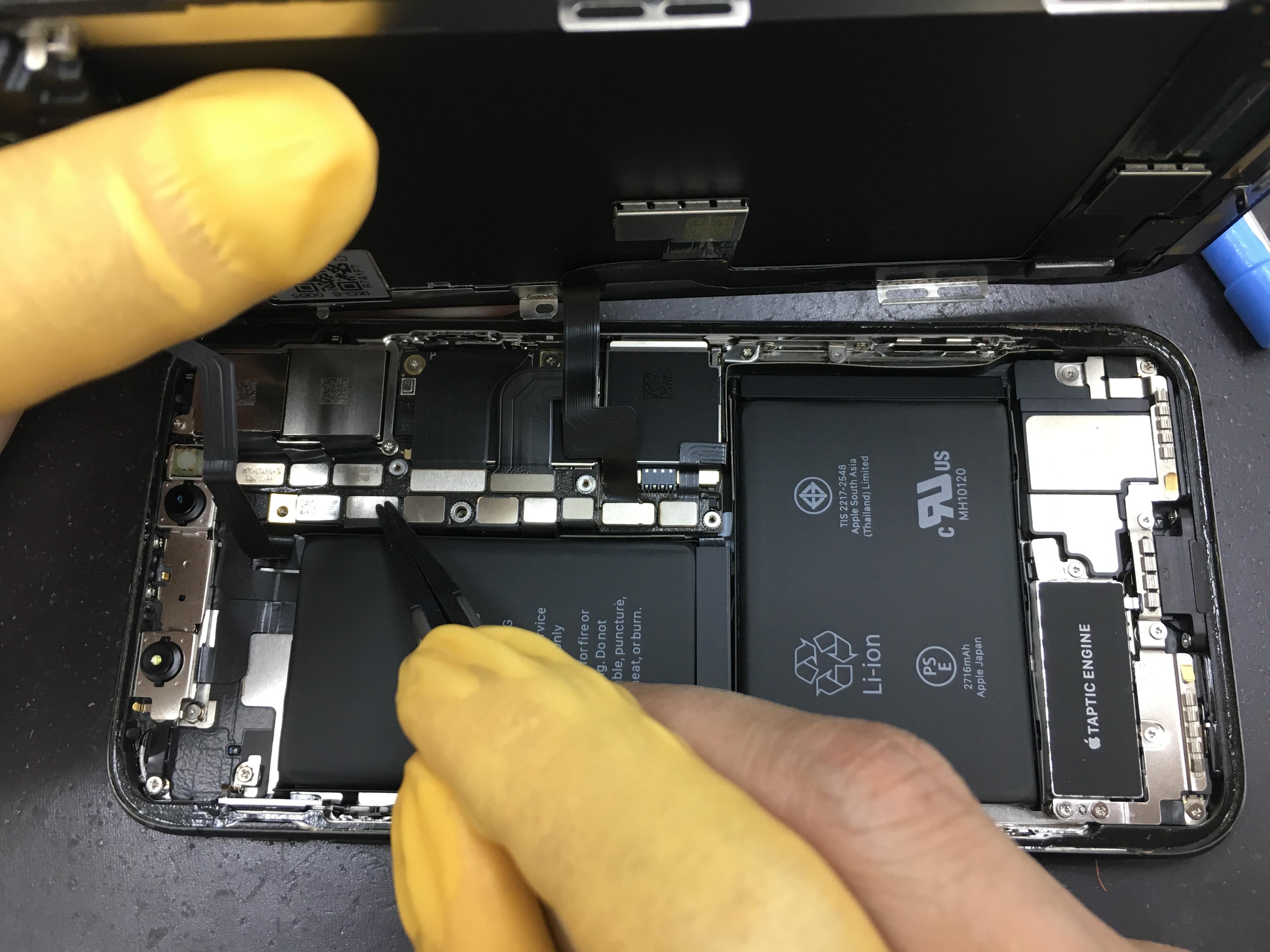 iPhoneX画面交換8