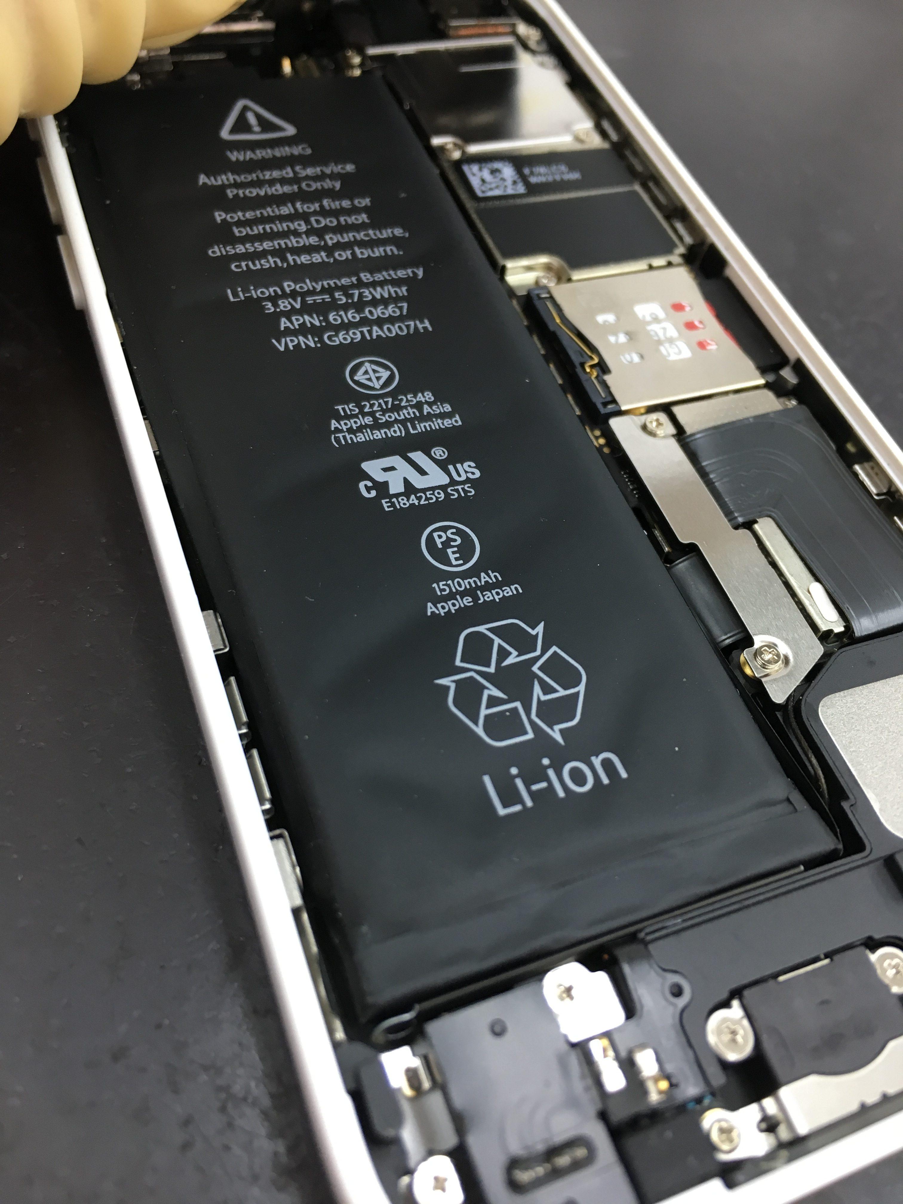 iPhone5cバッテリー交換3
