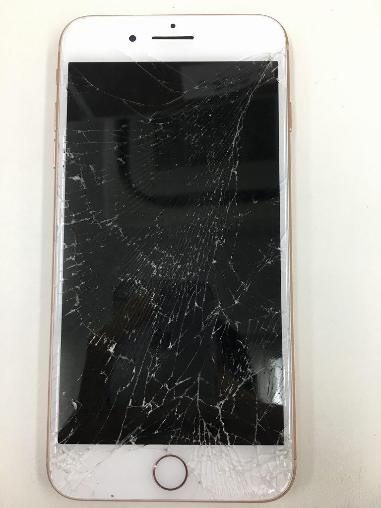 iPhone8Plus画面交換前