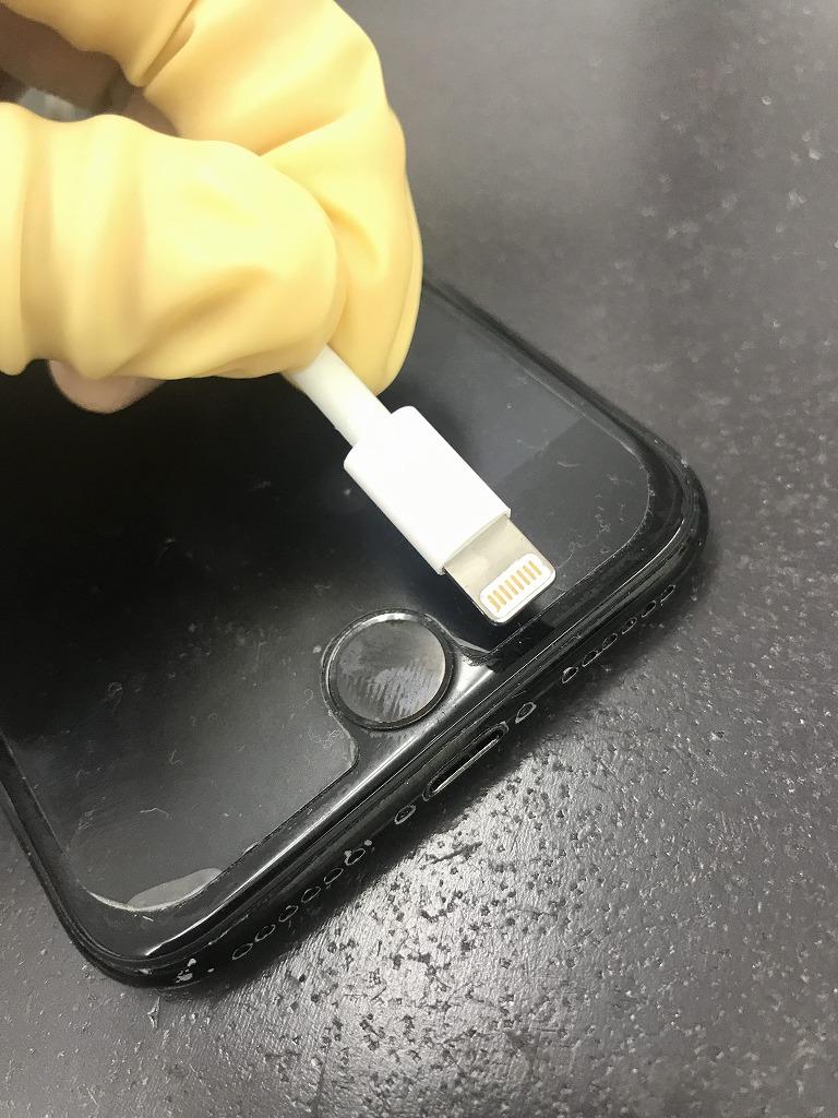 iPhone7ドックコネクター交換