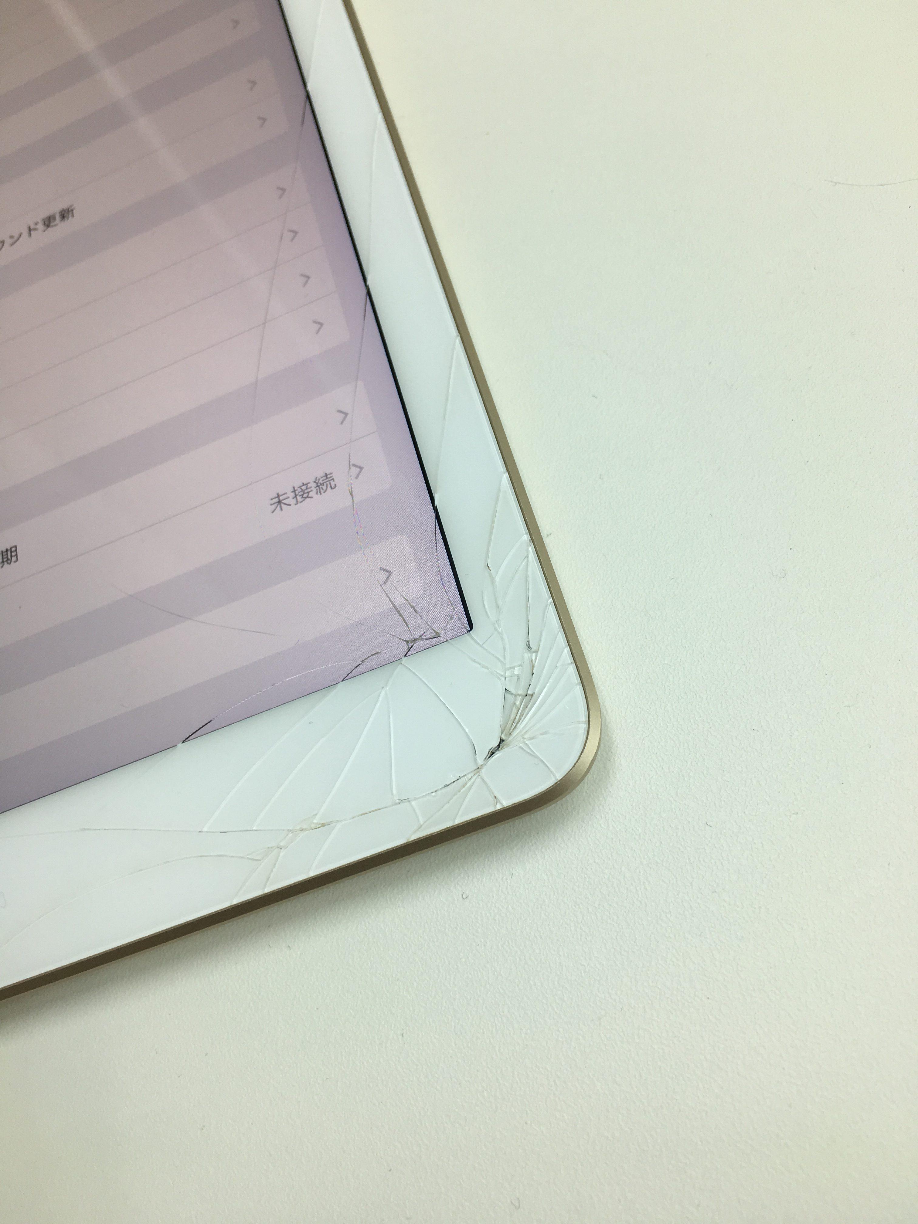 iPad5 ガラス割れ