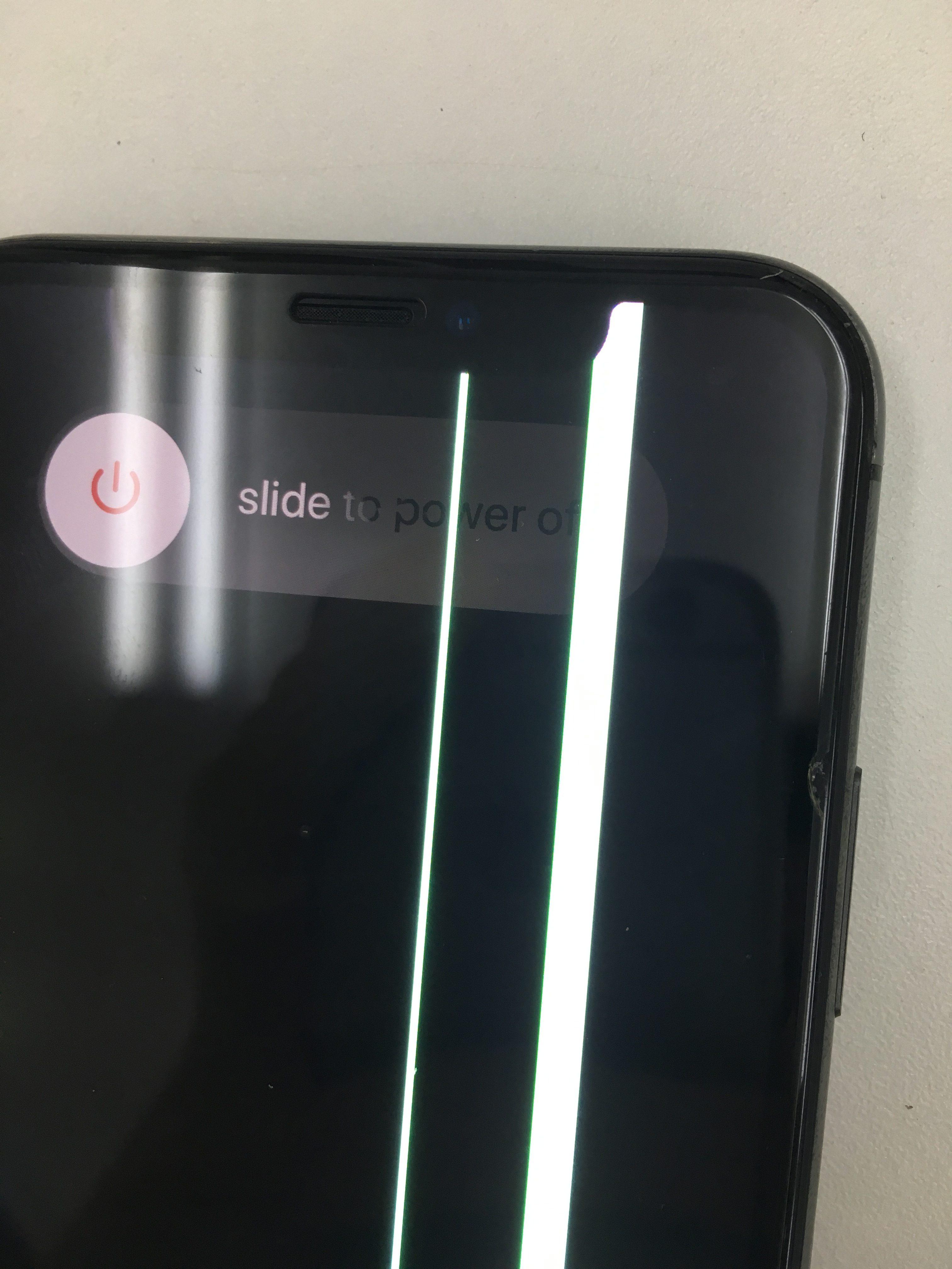 iPhoneX 画面破損