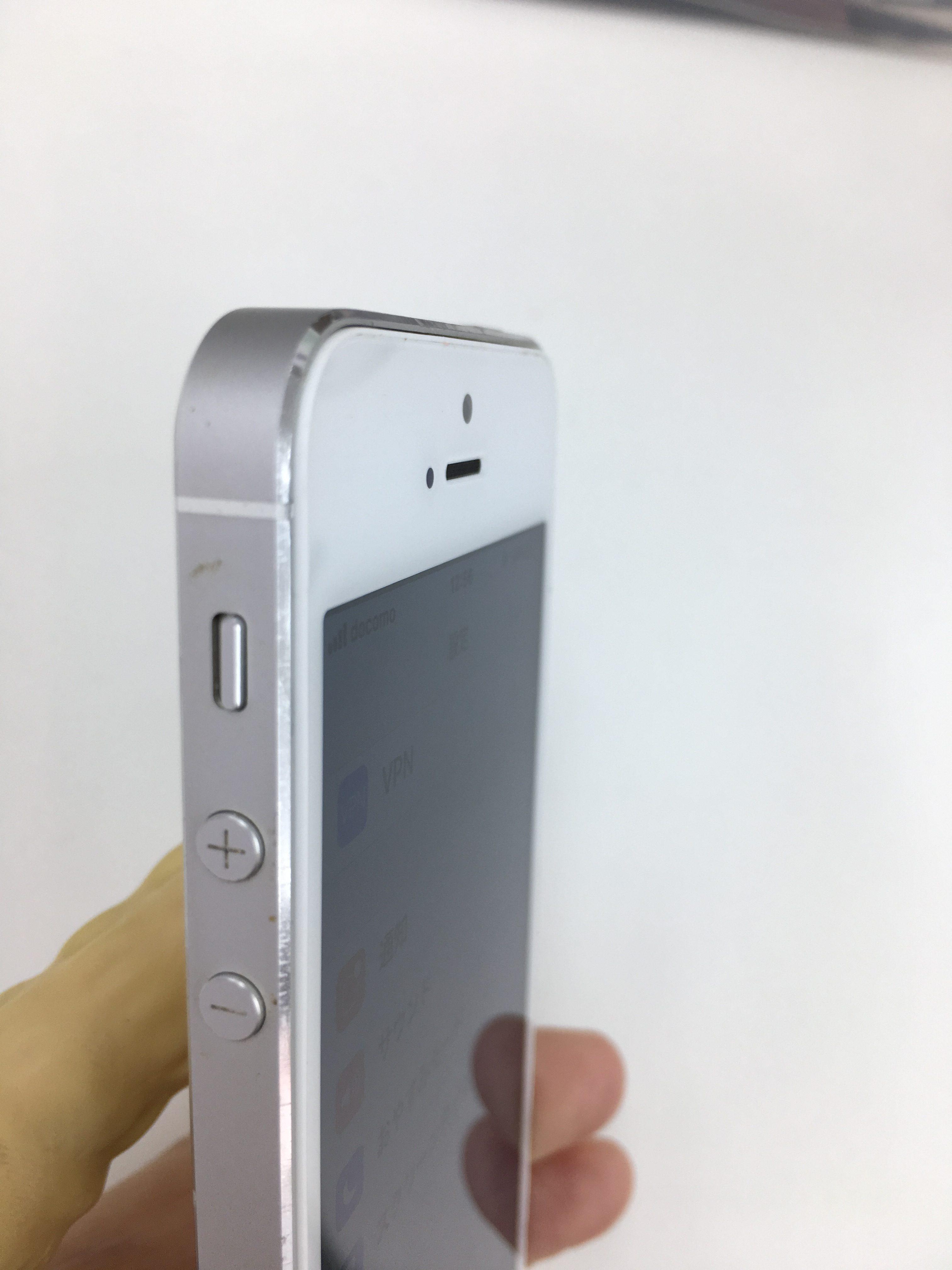 iPhone5s バッテリー交換後