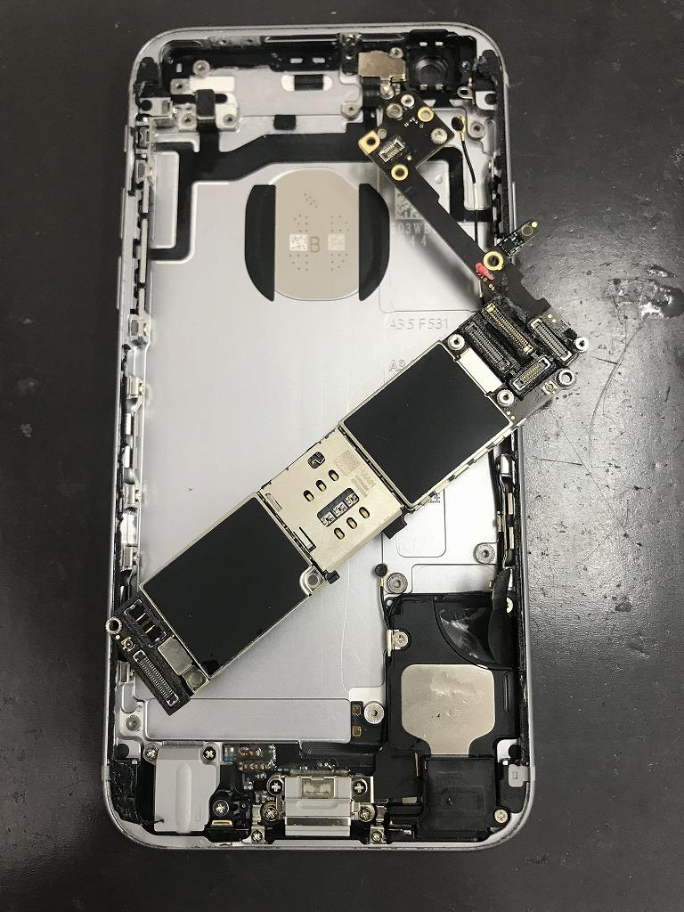 iPhone6s 水没復旧