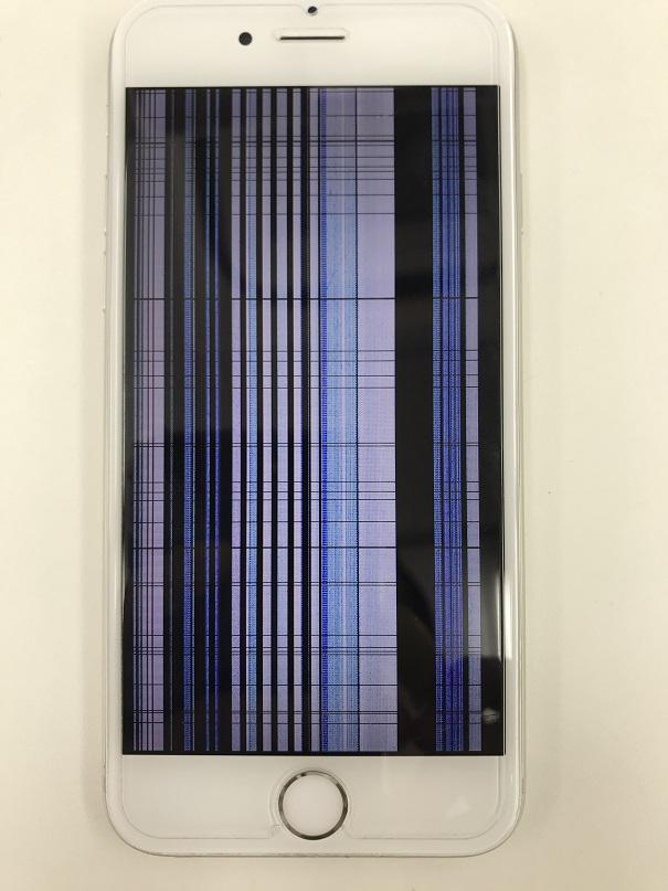 iPhone6s液晶不良修理前