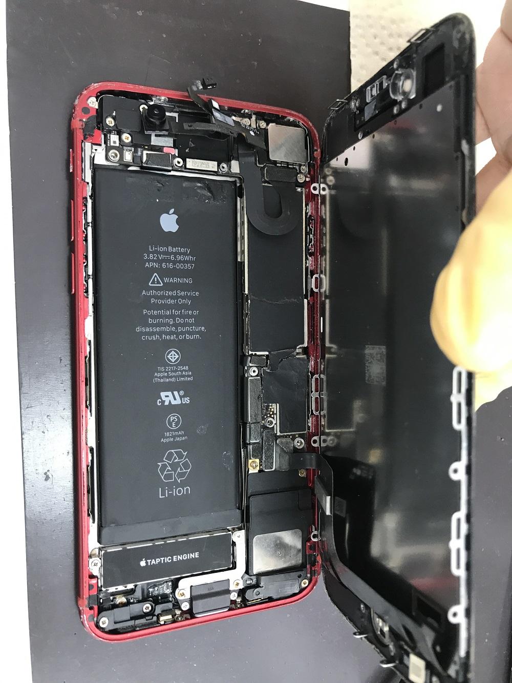 アイフォン8 水没復旧 画像5