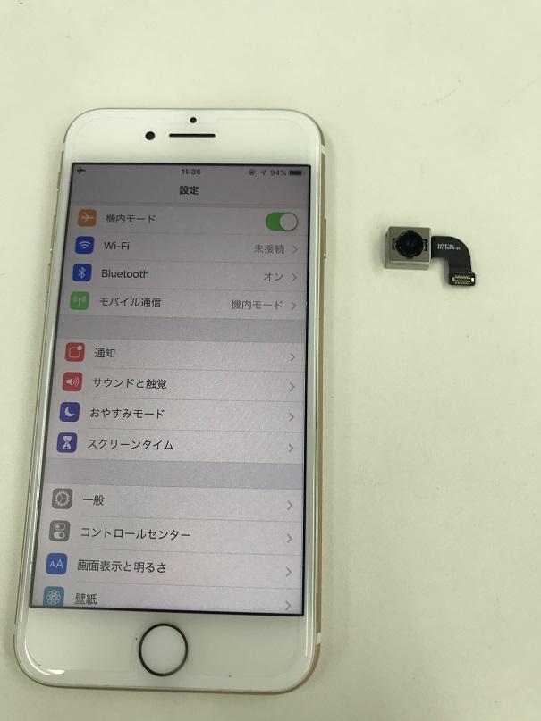 iPhone7カメラ交換修理後