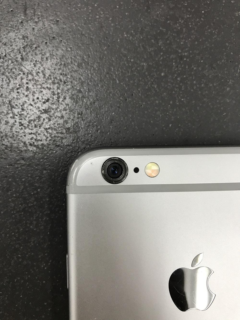 アイフォンアウトカメラ故障 クリーニング後1