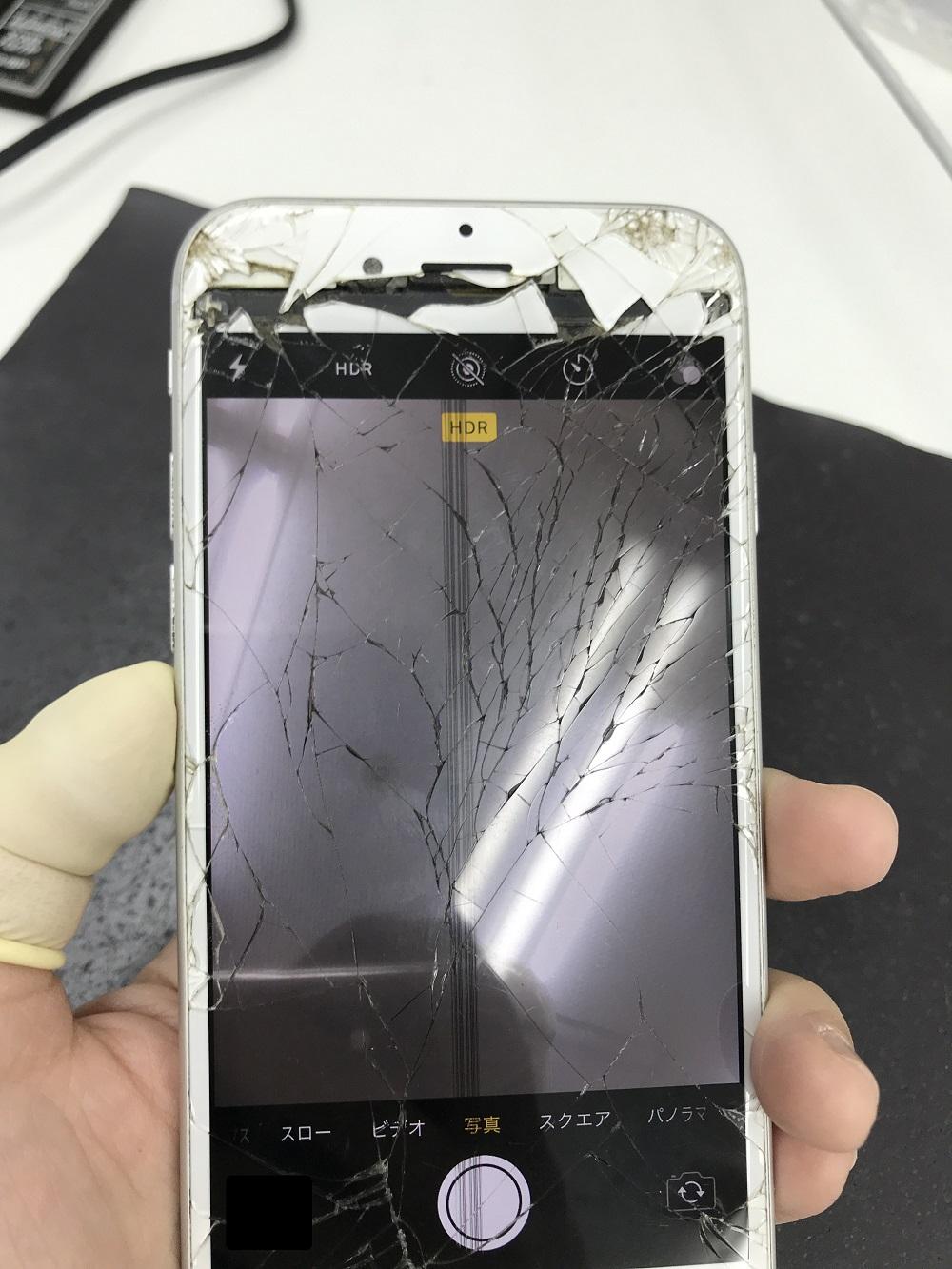 iPhone6s 画面交換 修理前1