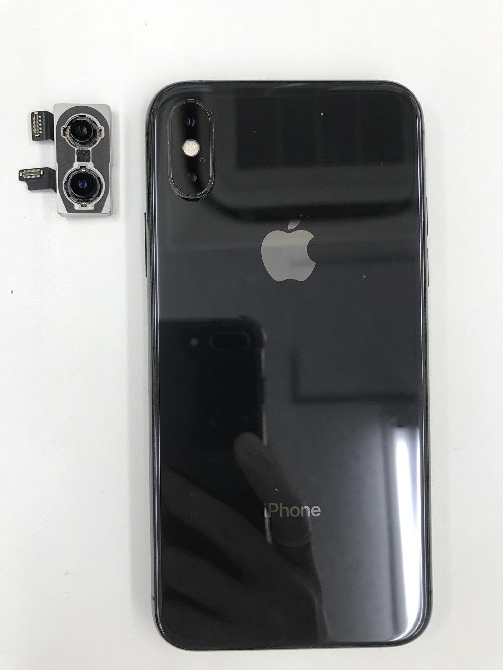 iPhone8Plusアウトカメラ交換 写真