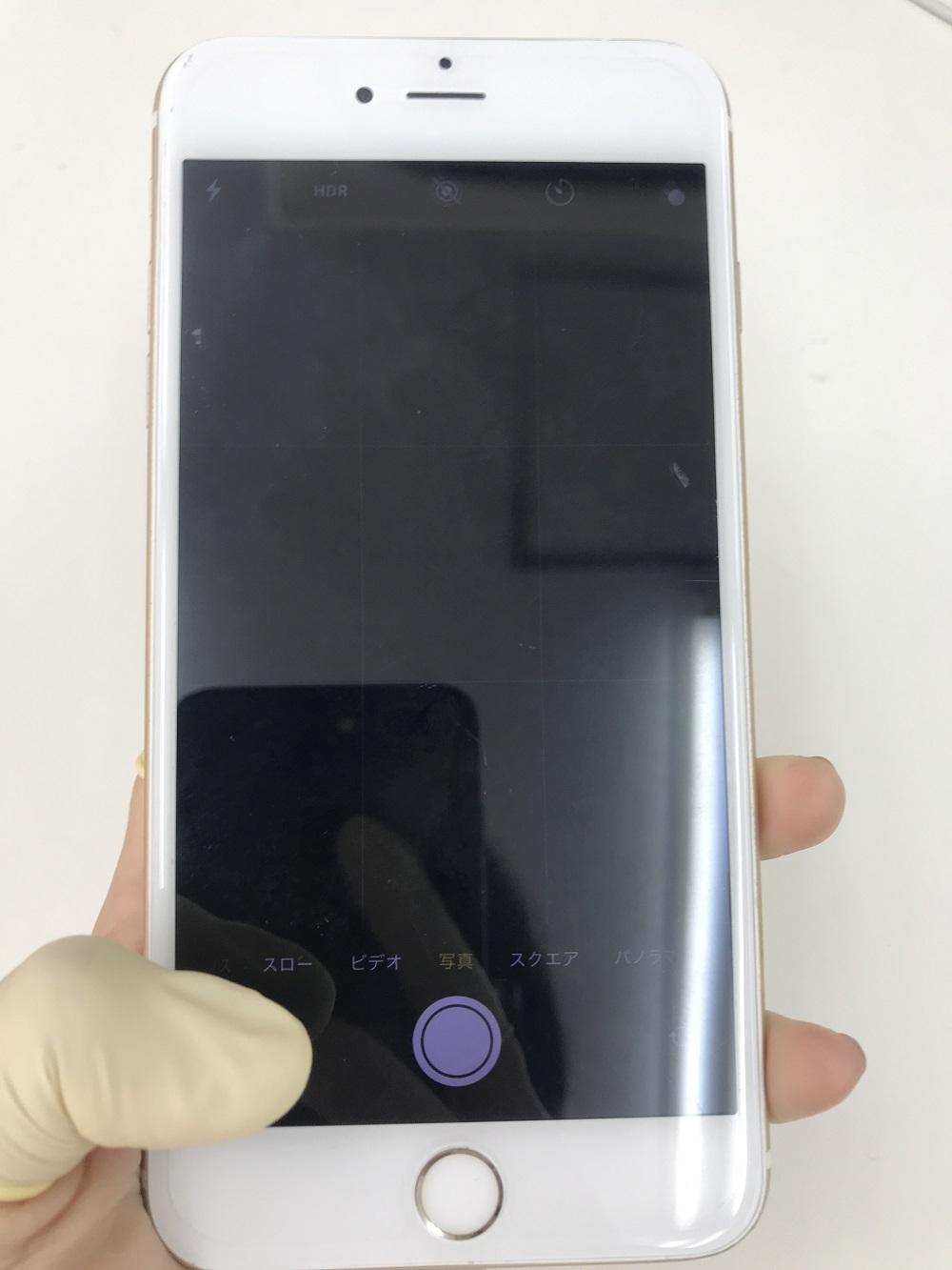 iPhone6sPlus アウトカメラ故障 修理前写真