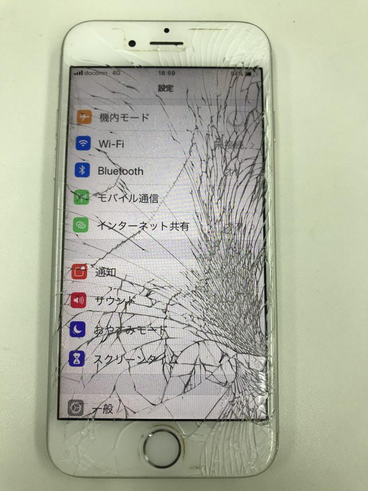 iPhone6 画面交換 修理前