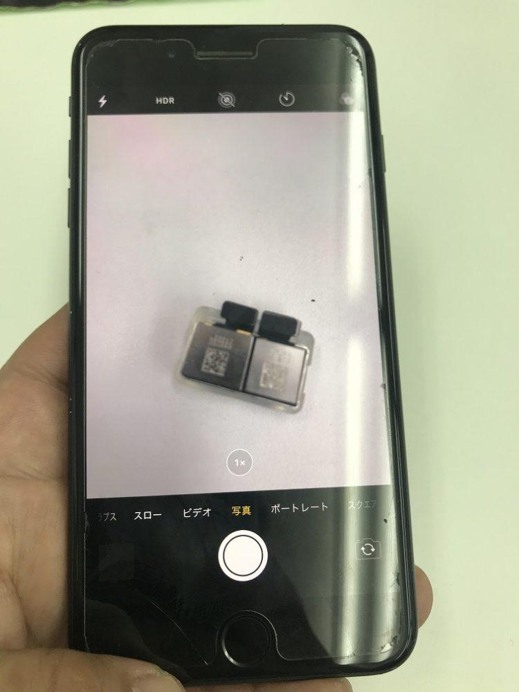 iPhone7Plusカメラ交換後