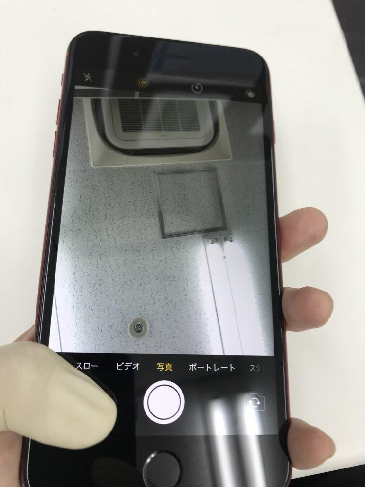 iPhone8Plus カメラ故障 修理後