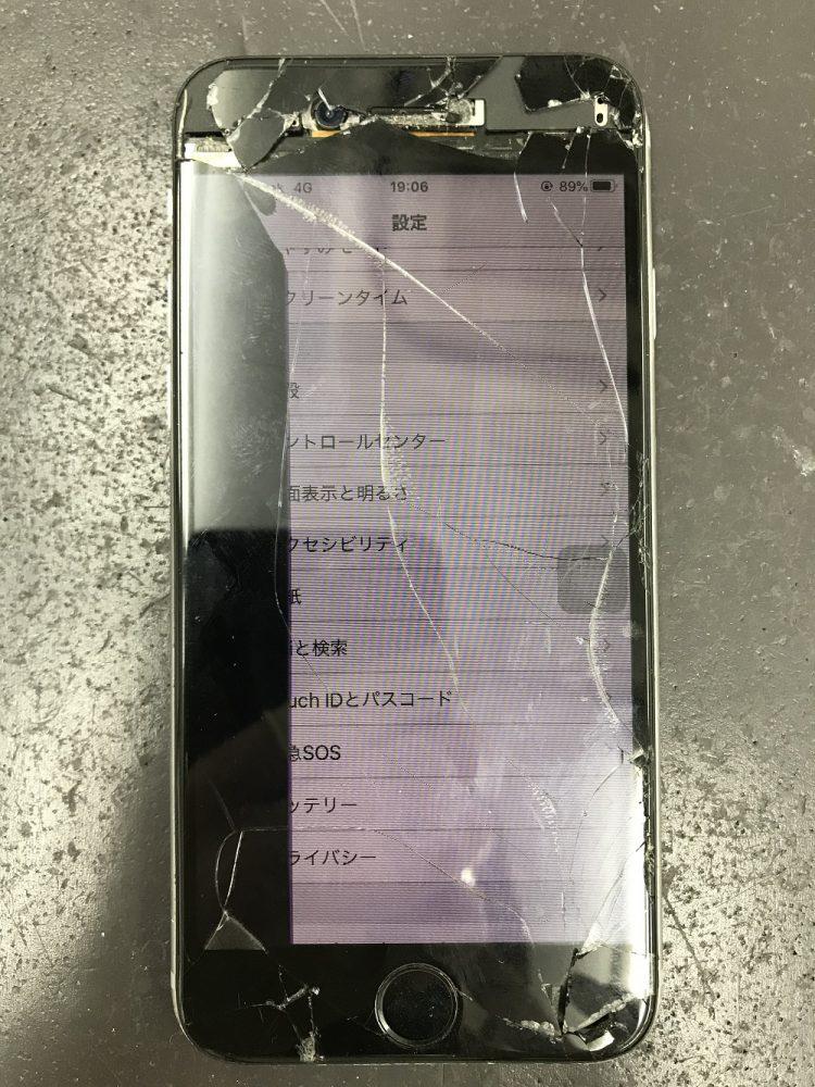 iPhone6s画面交換 交換前