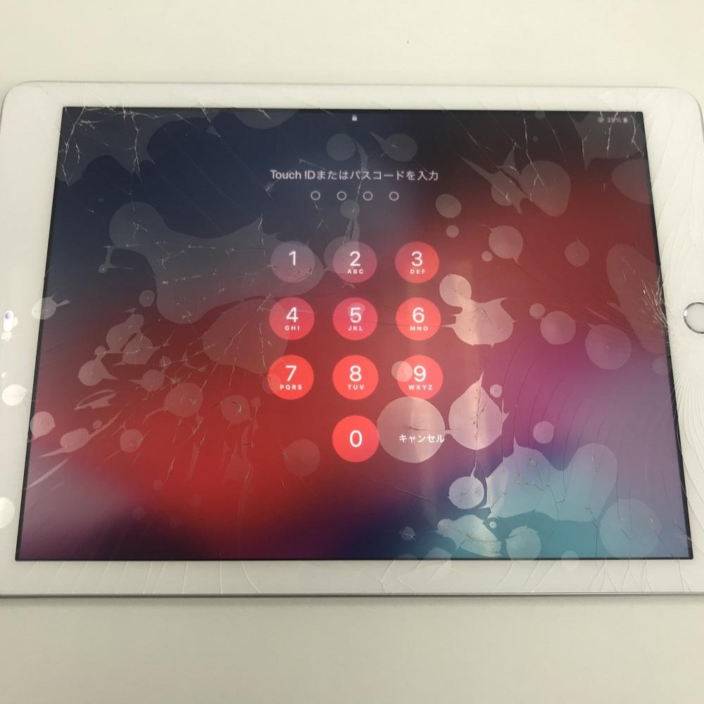 iPad6ガラス交換 前