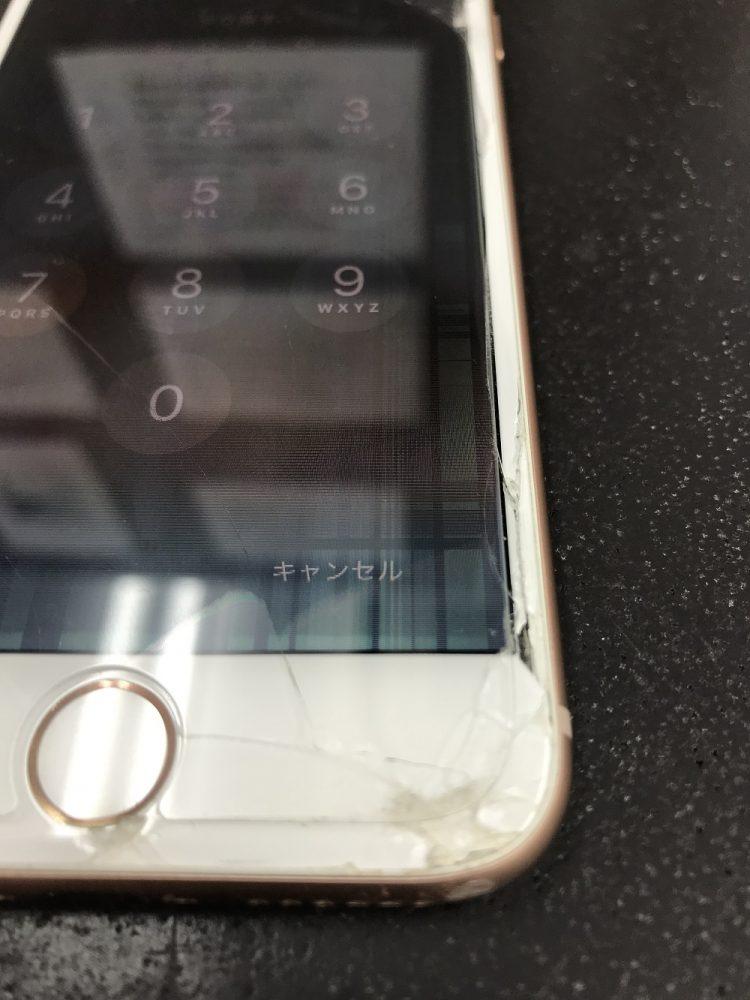 iPhone8画面交換前2