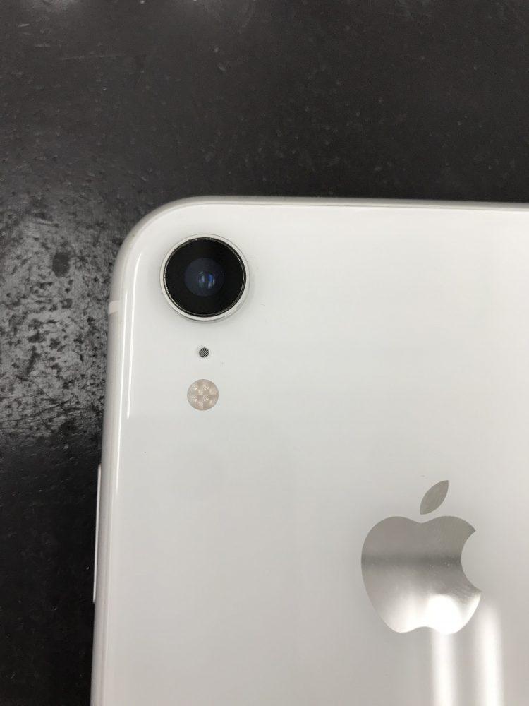 iPhoneXRアウトカメラレンズ交換後