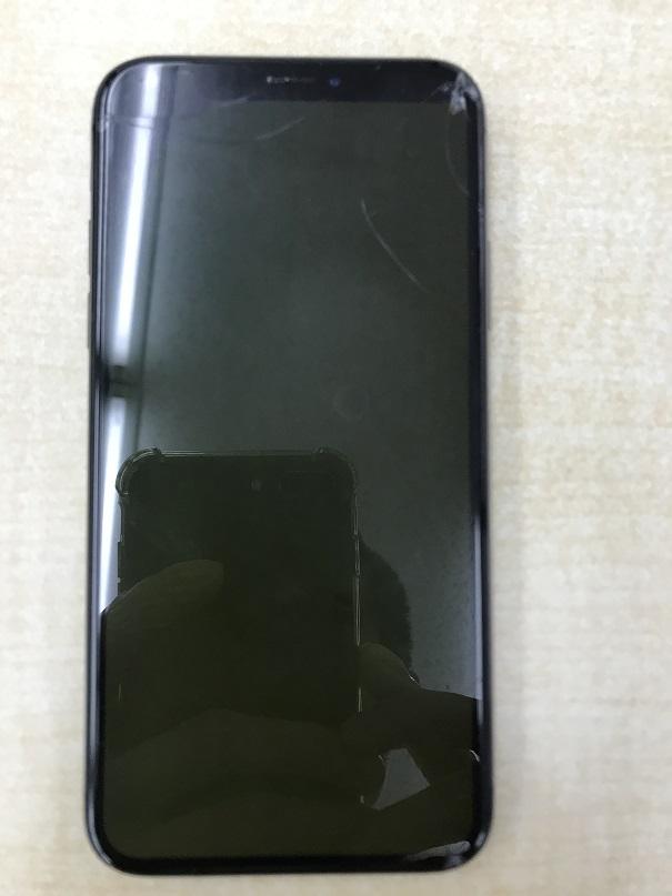 iPhoneX液晶交換修理前