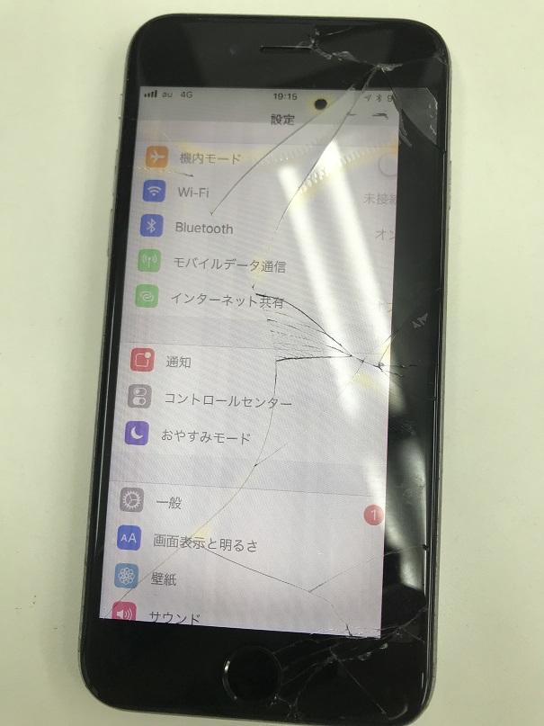 iPhone6s液晶交換修理前
