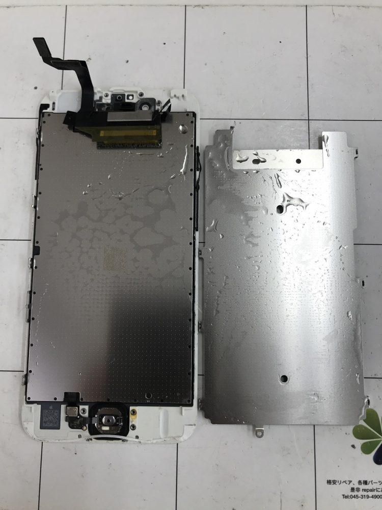 iPhone6s水没 画面