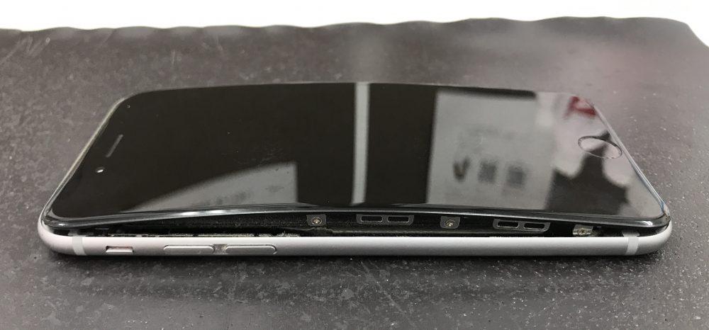 iPhone6パネル隙間