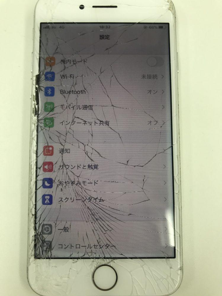 iPhone7画面交換修理 写真