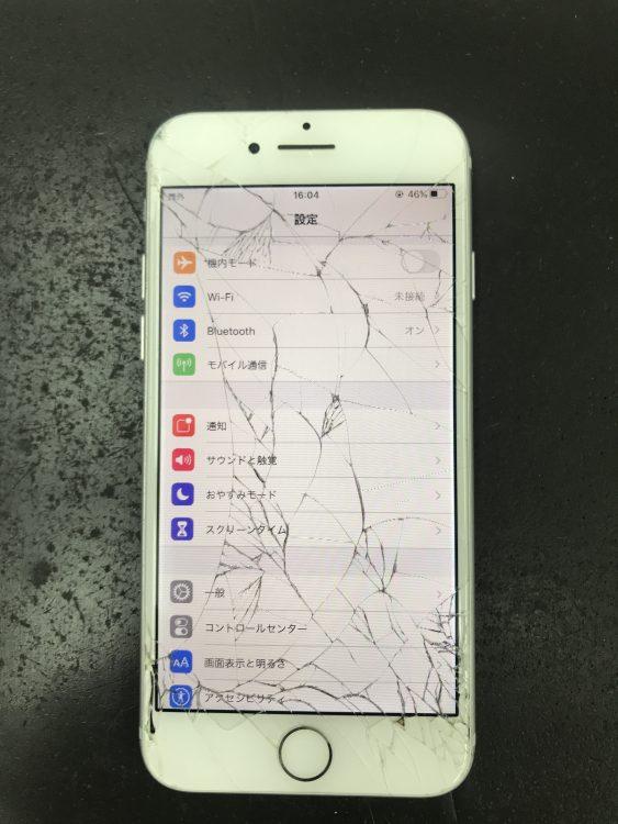 iPhone7画面交換前