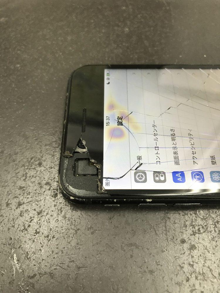 iPhone7画面交換 修理前写真3