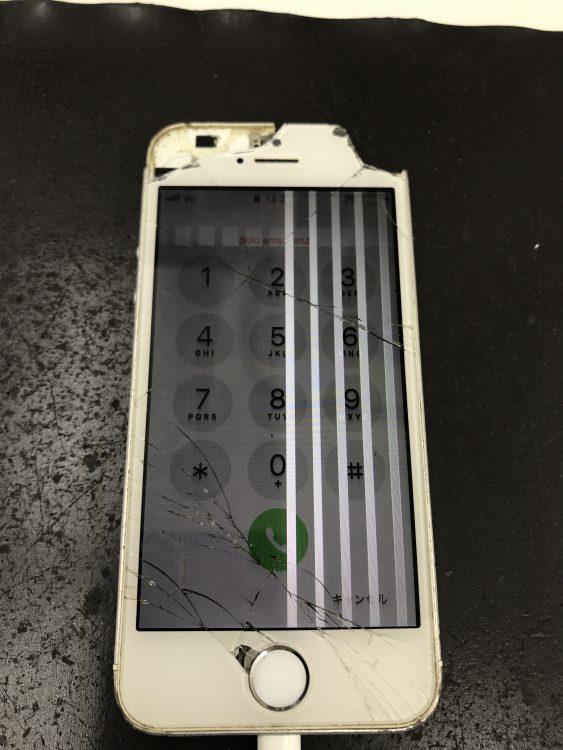iPhoneSEタッチ不良
