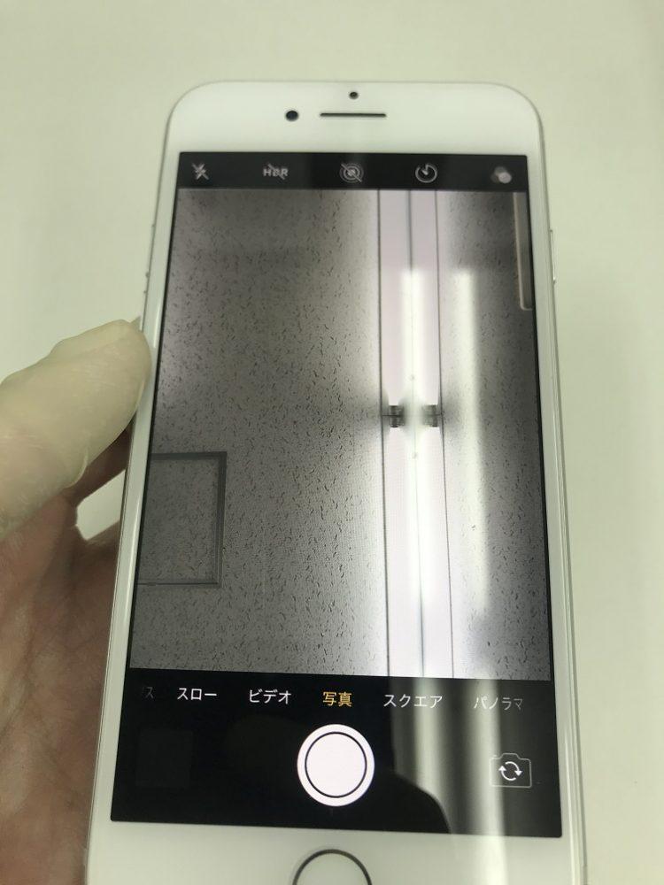 iPhone7 インカメラ交換後