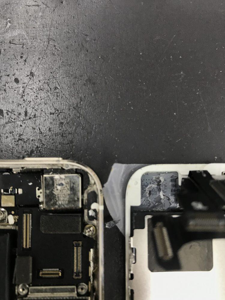 iPhone5s 画面交換 交換前写真3