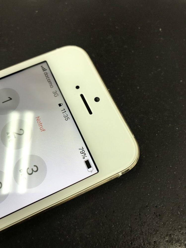 iPhone5s 画面交換 交換後写真2