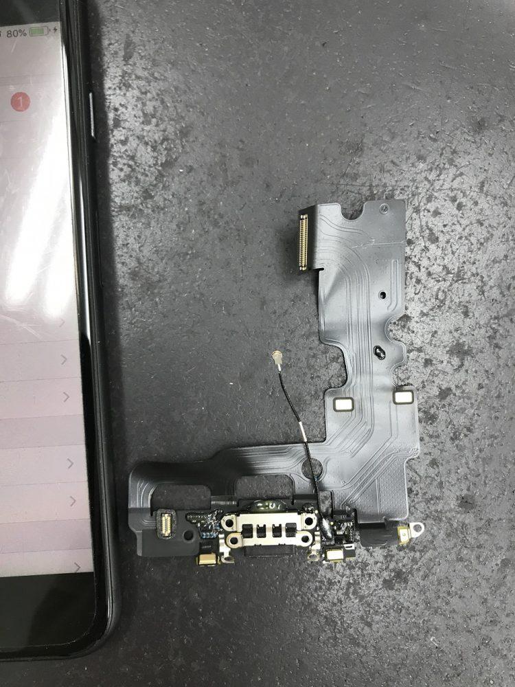 iPhone7充電口交換 写真4