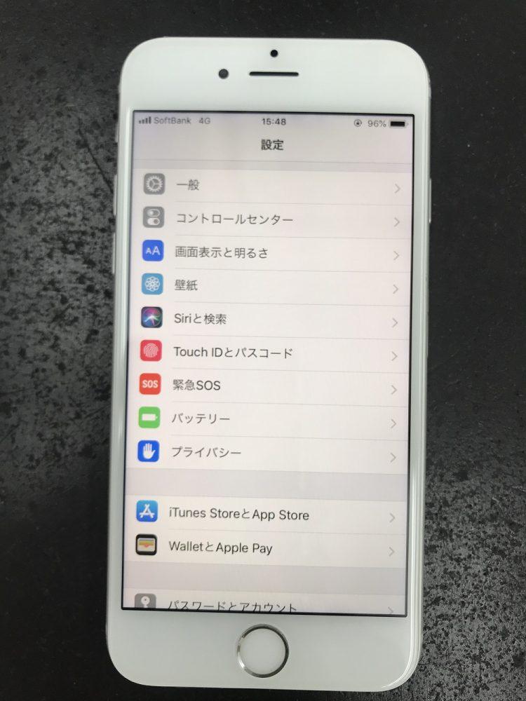 iPhone6画面交換修理 修理後1