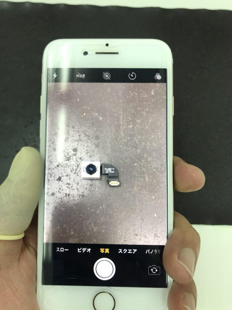 iPhone7アウトカメラ交換後