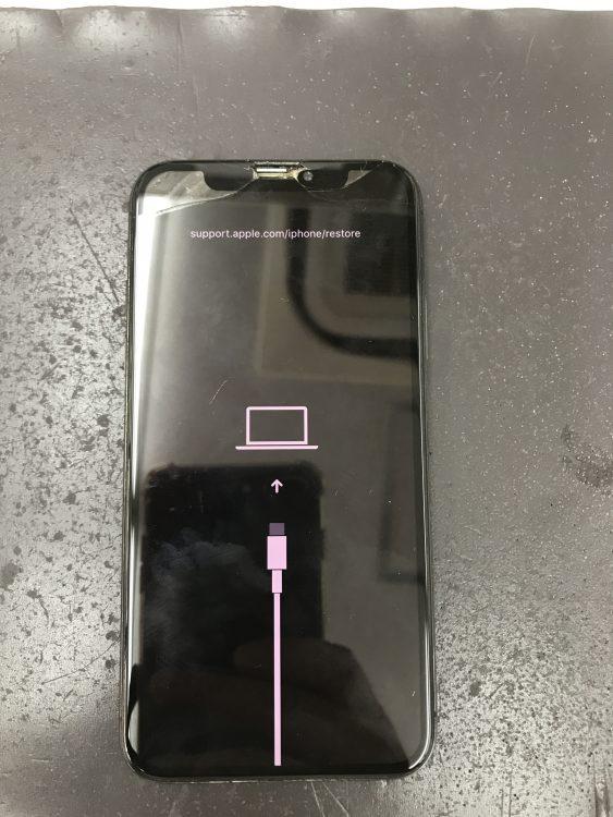 アイフォンX画面交換前