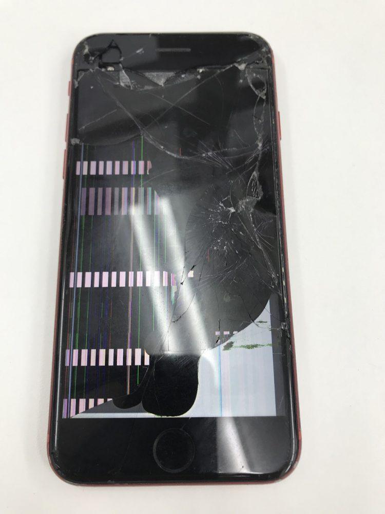 表示不良のiPhone8修理前