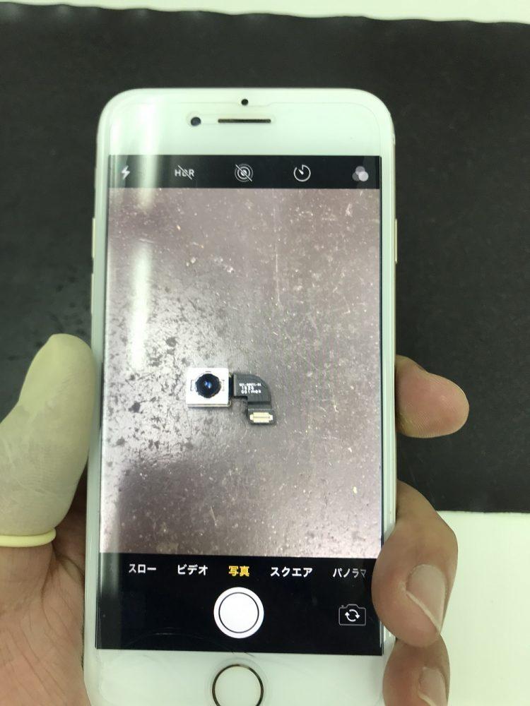 アイフォン7カメラ交換 交換後