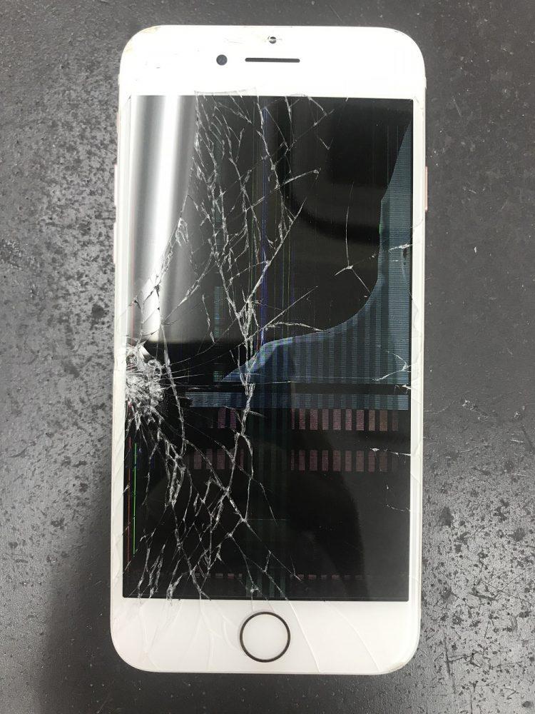 iPhone7画面交換 前