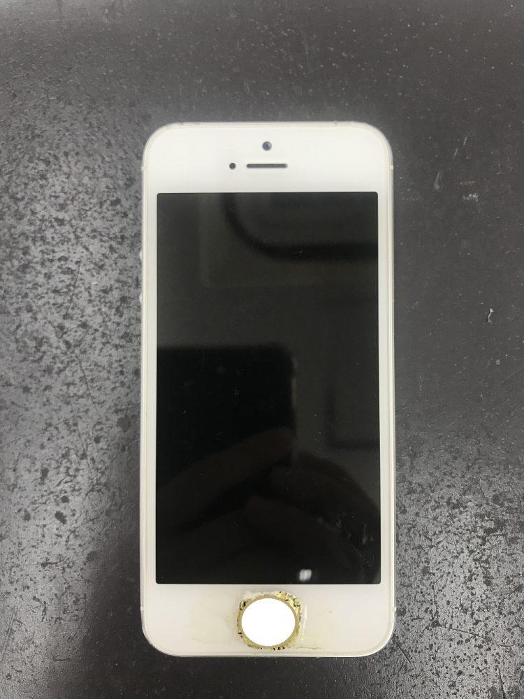 画面交換前のiPhone5
