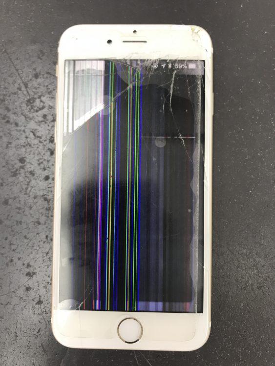 アイフォン6画面交換前